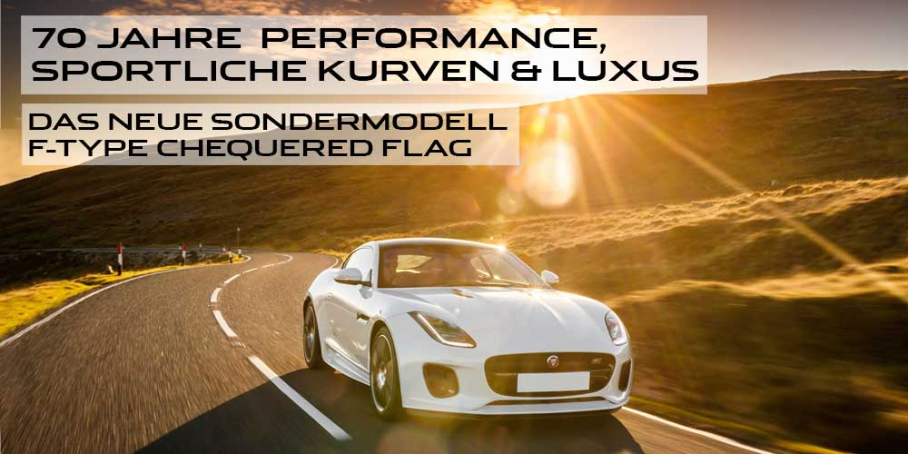 F-TYPE Chequered Flag Edition