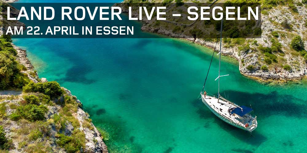 Land Rover Live - Segeln