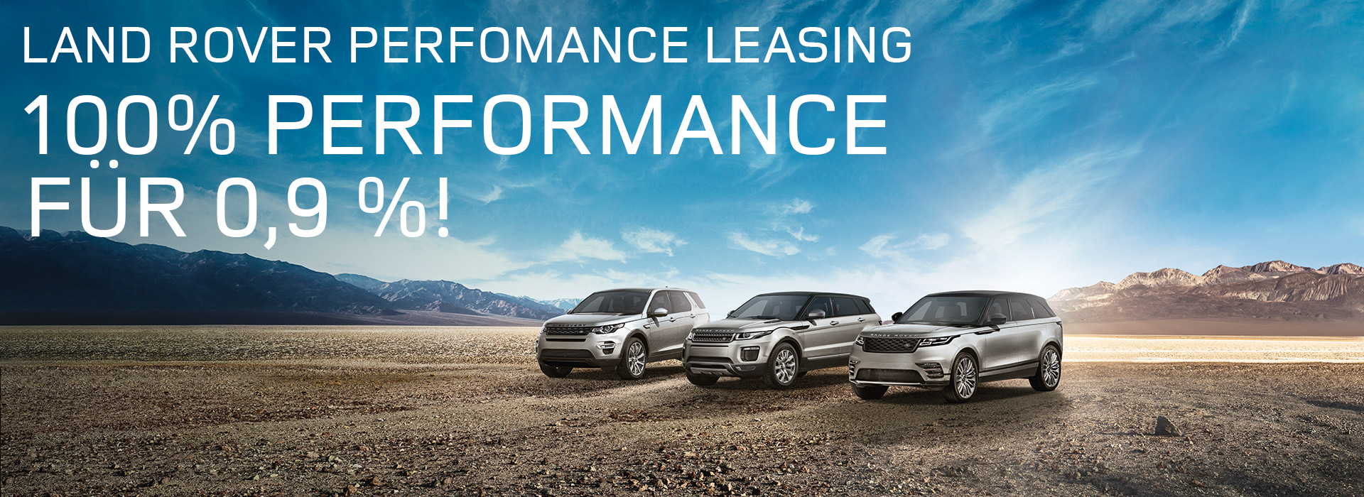 Land Rover Performance Leasing