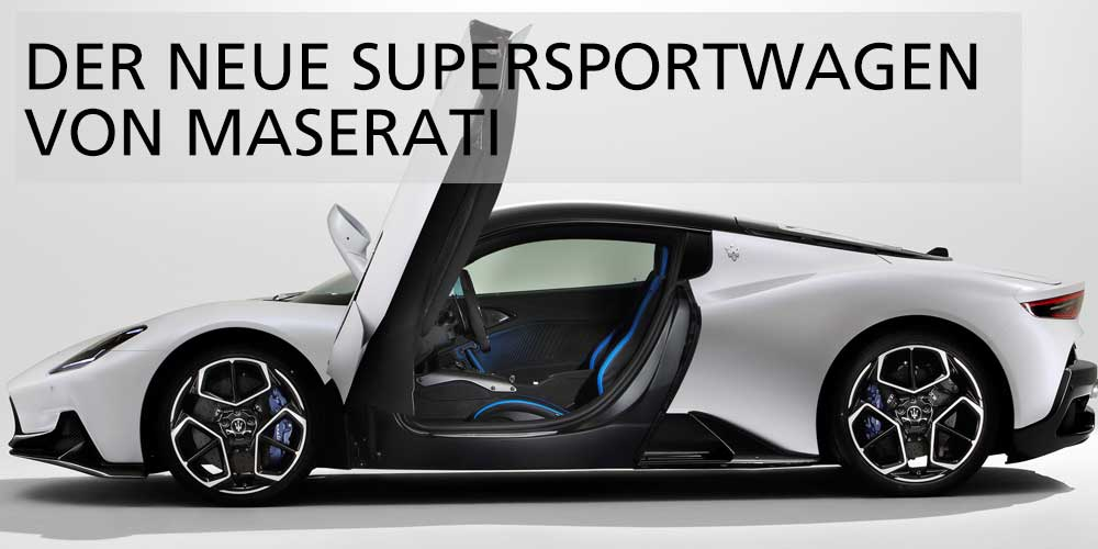 Maserati Supersportwagen
