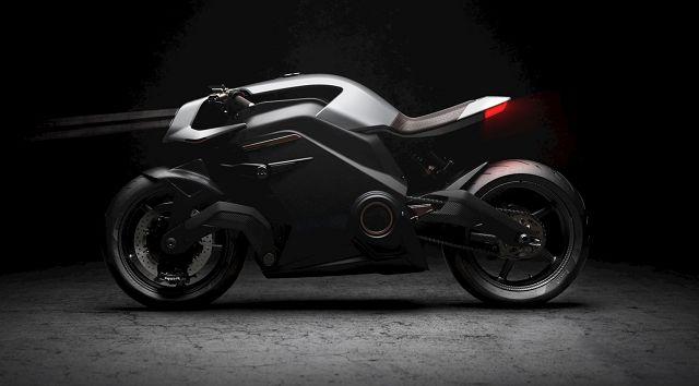 "Foto E-Motorrad ""Arc Vector"""