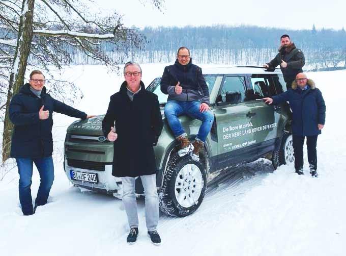 Land Rover Berater-Team