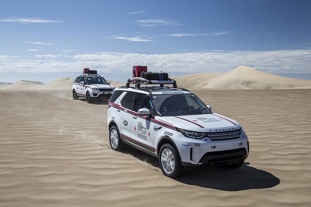 Foto Land Rover Experience Tour Peru