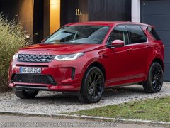 Land Rover Discovery Sport parkend